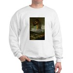 Goya Colossus Fantasy Quote Sweatshirt