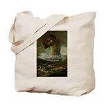 Goya Colossus Fantasy Quote Tote Bag