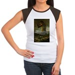 Goya Colossus Fantasy Quote Women's Cap Sleeve T-S