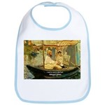French Painter Manet Quote Bib