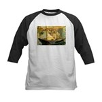 French Painter Manet Quote Kids Baseball Jersey