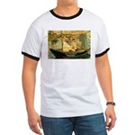 French Painter Manet Quote Ringer T