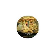 French Painter Manet Quote Mini Button
