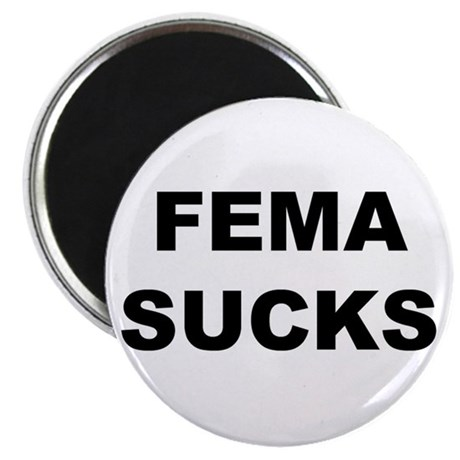 FEMA Sucks Magnet