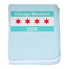 2006 Chicago Marathon Infant Blanket