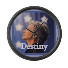 Hillary DESTINY Large Wall Clock