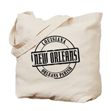 New Orleans Title Tote Bag