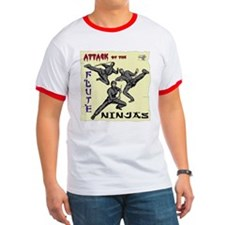 Attack of the Flute Ninjas T
