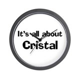It's all about Cristal Wall Clock