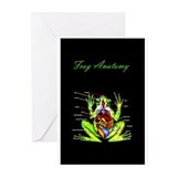 Frog Anatomy Greeting Cards (Pk of 20)