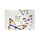 Rainbow Butterfly Magnets (100)