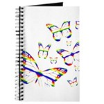 Rainbow Butterfly Journal