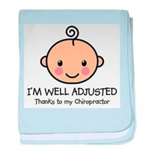 Well-Adjusted Baby (Fair) Infant Blanket