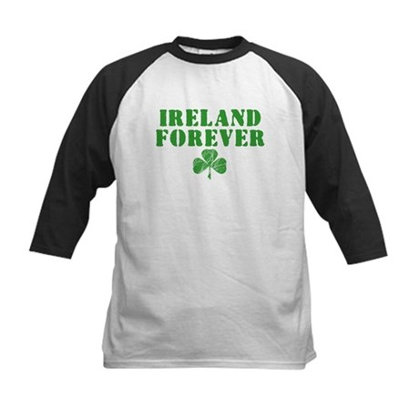 Ireland Forever Kids Baseball Jersey
