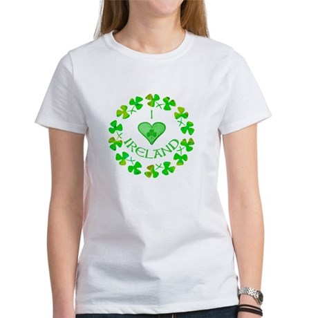I Heart Ireland Women's T-Shirt