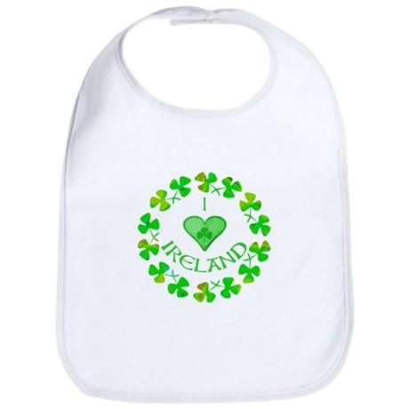I Heart Ireland Bib