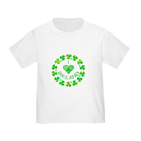 I Heart Ireland Toddler T-Shirt