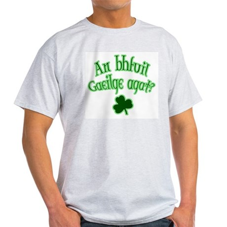 Speak Irish? Ash Grey T-Shirt