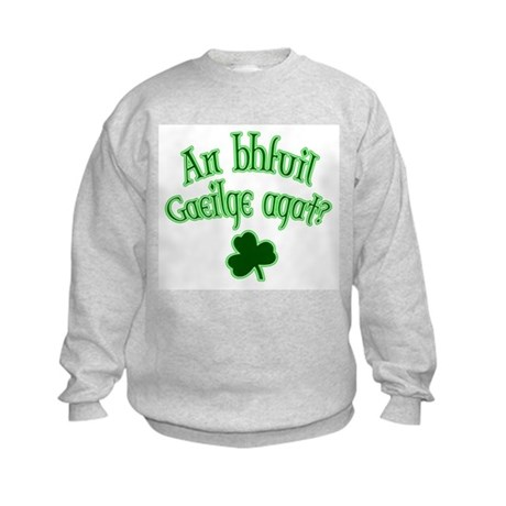 Speak Irish? Kids Sweatshirt