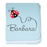 Ladybug Barbara Infant Blanket