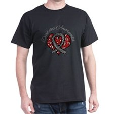 Diabetes Mosaic Ribbon T-Shirt