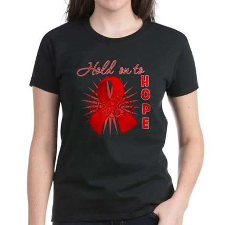 Blood Cancer Women's Dark T-Shirt