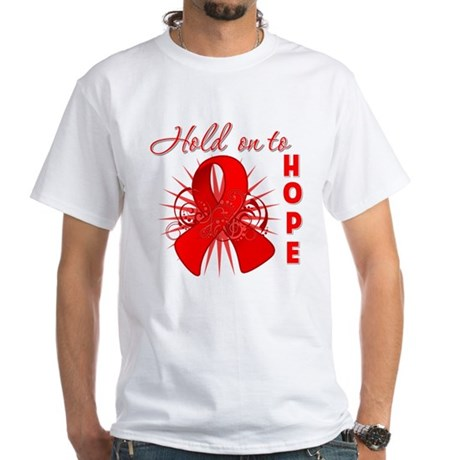 Blood Cancer White T-Shirt