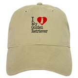 I Love My Golden Retriever Baseball Cap