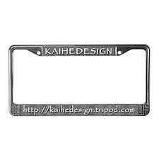 """KAIHEDESIGN"" License Plate Frame"