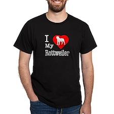 I Love My Rottweiler T-Shirt