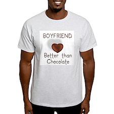 Boyfriend Better Than C Ash Grey T-Shirt