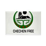 Chechen Free Rectangle Magnet