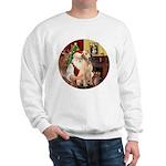 Santa's Lab (Y-lap) Sweatshirt