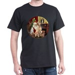 Santa's Lab (Y-lap) Dark T-Shirt