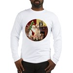 Santa's Lab (Y-lap) Long Sleeve T-Shirt