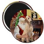 Santa's Lab (Y-lap) Magnet