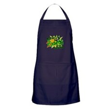Rocket City Attack Apron (dark)