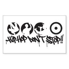 Hip-hop don't stop !! Decal
