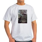 Manet Painting Color Quote Ash Grey T-Shirt