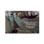 Manet Painting Color Quote Rectangle Magnet