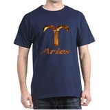 Aries Zodiac Gift: Black T-Shirt