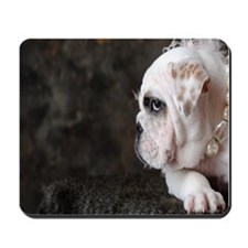 BULLDOG PRINCESS Mousepad
