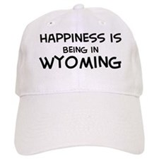 Happiness is Wyoming Baseball Cap
