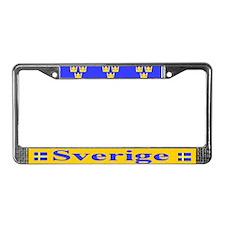 Sverige License Plate Frame