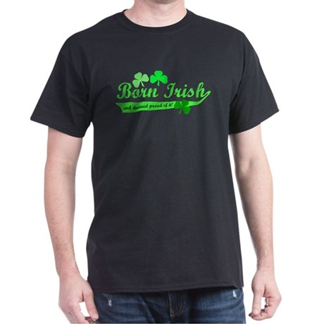 Born Irish Black T-Shirt