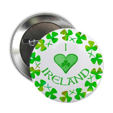 "I Heart Ireland 2.25"" Button (100 pack)"