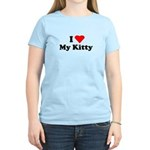 I Love My Kitty Women's Light T-Shirt