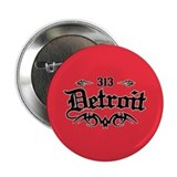 "Detroit 313 2.25"" Button"