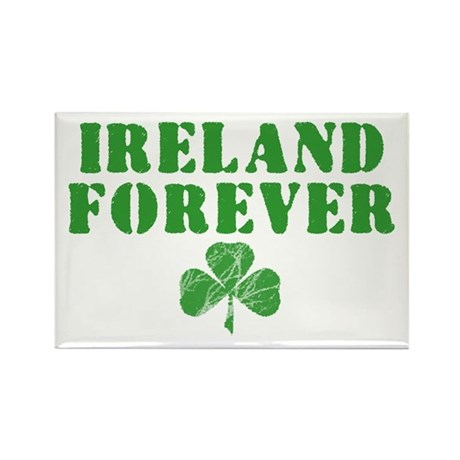 Ireland Forever Rectangle Magnet (100 pack)