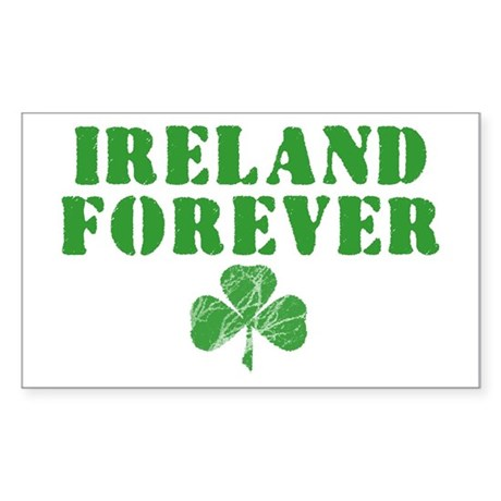 Ireland Forever Rectangle Sticker